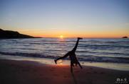 Sunset photo shooting