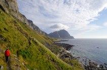 A short hike on the coast line