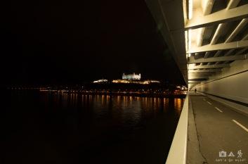 Entering Bratislava