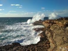 Those waves...