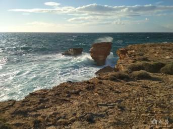 The Mediterranean sea art