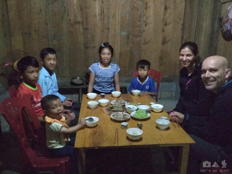 Lovely dinner with a local Hmong family